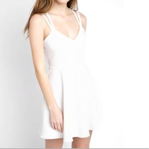 French Connection Whisper Strappy Mini Dress NWT